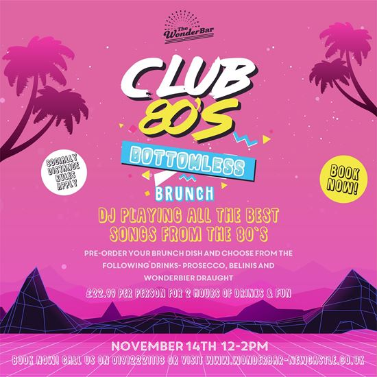 Picture of Club 80s Bottomless Brunch